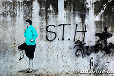 Grafitti, Chinatown, Bangkok, Thailand