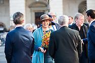 04.10.2016. Copenhagen, Denmark.  <br /> Princess Benedikte leaves the parliament in Christiansborg Palace.<br /> Photo: &copy; Ricardo Ramirez