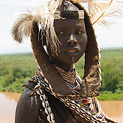 Karo Tribe, Omo River Valley, South Ethiopia, Africa