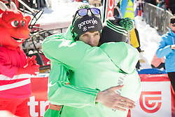 Anze Semenic (SLO) and Goran Janus during the Ski Flying Hill Team Competition at Day 3 of FIS Ski Jumping World Cup Final 2016, on March 19, 2016 in Planica, Slovenia. Photo by Ziga Zupan / Sportida