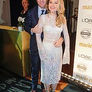 NLD/Amsterdam/20121119 - Inloop Marie Claire Prix de la Mode 2012 , Jort kelder en Lauren Verster