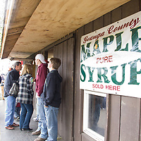 The last full weekend in April, Chardon kicks off festival season in Ohio with the Geauga County Maple Festival,  a celebration of one of the leading agricultural industries in Northern Ohio-- the production of maple syrup.