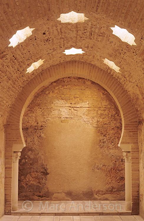 Arabic or Moorish Baths (Baños Arabes) in Jaen, Andalucia, Spain