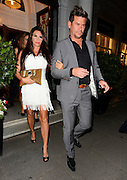 29.SEPTEMBER.2012. LONDON<br /> <br /> KATIE PRICE LEAVING THE CADOGAN HOTEL IN KNGHTSBRIDGE, LONDON AFTER THE GARY COCKERILL BIRTHDAY DINNER.<br /> <br /> BYLINE: EDBIMAGEARCHIVE.CO.UK<br /> <br /> *THIS IMAGE IS STRICTLY FOR UK NEWSPAPERS AND MAGAZINES ONLY*<br /> *FOR WORLD WIDE SALES AND WEB USE PLEASE CONTACT EDBIMAGEARCHIVE - 0208 954 5968*