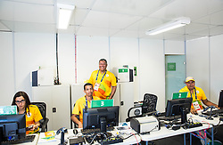 IBC Accreditation centre ahead of the Rio 2016 Summer Paralympics Games on September 4, 2016 in the Barra Olympic Park, Rio de Janeiro, Brazil. Photo by Vid Ponikvar / Sportida
