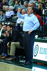 17 November 2017:  Ron Rose during an College men's division 3 CCIW basketball game between the Alma Scots and the Illinois Wesleyan Titans in Shirk Center, Bloomington IL