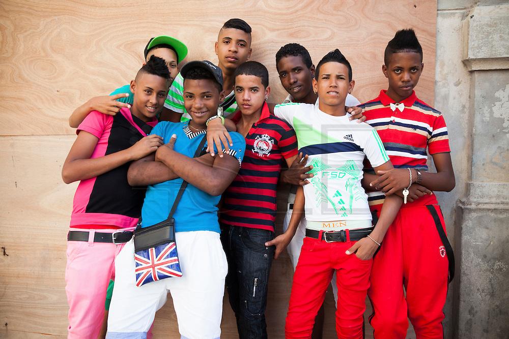 Youth , boys -Havana, Cuba