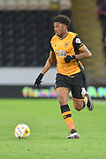 Hull City striker Chuba Akpom (19) during the Sky Bet Championship match between Hull City and Brentford at the KC Stadium, Kingston upon Hull, England on 26 April 2016. Photo by Ian Lyall.