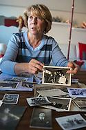 Guerande, 27/10/2014: la signora Trampetti, discendente di una famiglia italiana fuggita dal regime fascista - lady Trampetti fled with his family the fascist regim