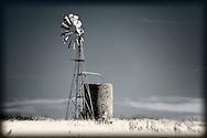 windmill in paddock