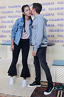 Cindy Kimberly and Marc Marquez attends the presentation of the new collection of clothes designed between the Spanish pilot Marc Marquez and Pull & Beard in Madrid, Spain. March 30, 2017. (ALTERPHOTOS / Rodrigo Jimenez)