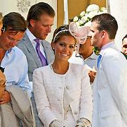 ITA/Siena/20100718 - Huwelijk wesley Sneijder en Yolanthe Cabau van Kasbergen in Siena Italie, Sylvie van der Vaart - Meis