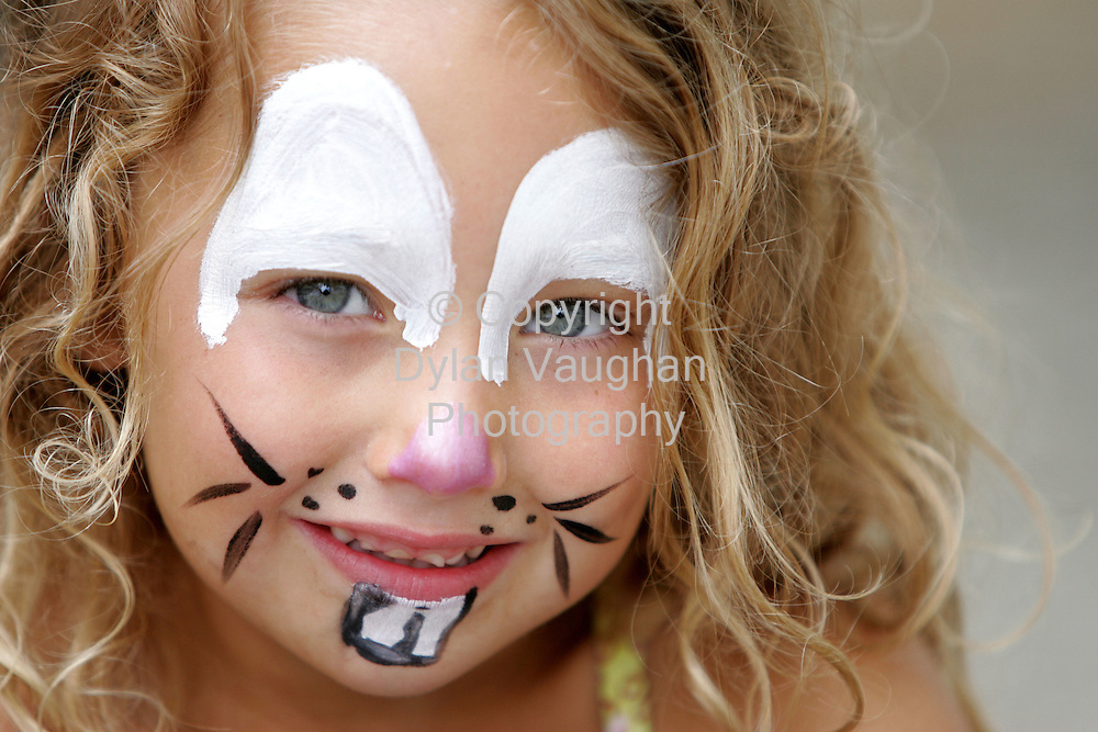 6/8/2006.Eva Daniels aged 4 from Waterford pictured at Spraoi in Waterford yesterday..Picture Dylan Vaughan.