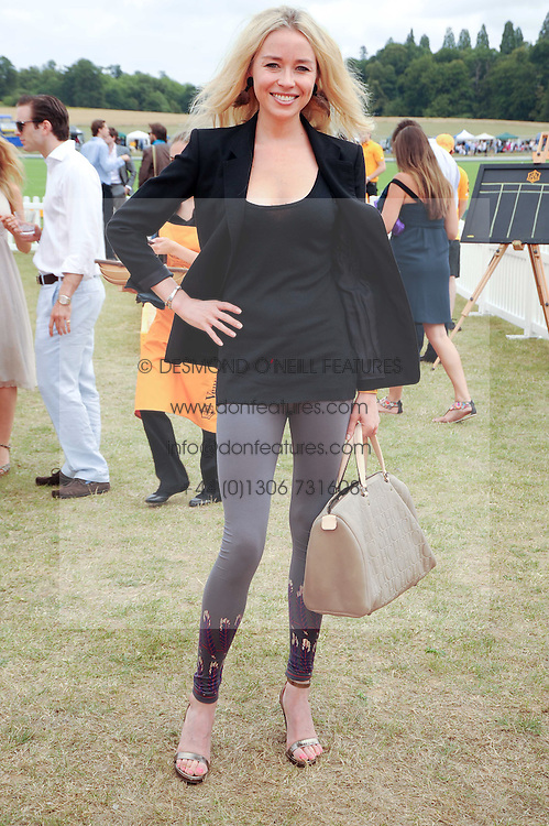 NOELLE RENO at the Veuve Clicquot Gold Cup polo final held at Cowdray Park, Midhurst, West Sussex on 18th July 2010.