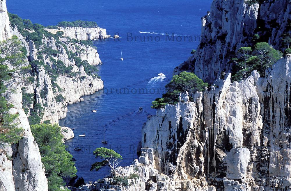 France - Marseille -Bouche du Rhone - Calanques de Cassis - Envau