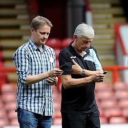 Rich & Keef - Mandatory byline: Neil Brookman/JMP - 07966386802 - 29/08/2015 - FOOTBALL - Matchroom Stadium -Leyton,England - Leyton Orient v Bristol Rovers - Sky Bet League Two