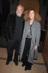 STEPHEN MARKS and his ex wife NICOLE FARHI at the opening party for 'Face of Fashion' an exhibition of photographs by five of the World's leading fashion photographers held at the National Portrait Gallery, St.Martin's Lane, London on 12th February 2007.<br />