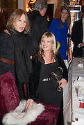 ANOUSKHA  WEINBERG; ; KATE MOSS with St. laurent bag, , Chinese New Year dinner given by Sir David Tang. China Tang. Park Lane. London. 4 February 2013.