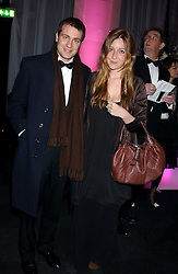 BEN & KATE GOLDSMITH at the Conservative Party's Black & White Ball held at Old Billingsgate, 16 Lower Thames Street, London EC3 on 8th February 2006.<br />