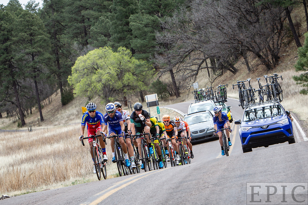 SILVERY CITY, NM - APRIL 22: Stage 5 of the Tour of The Gila on April 22, 2018 in Silver City, New Mexico. (Photo by Jonathan Devich/Epicimages.us)