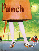 PUNCH Magazine Front Cover Cartoons