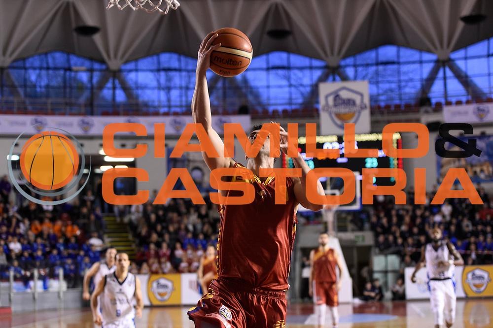Giuliano Maresca<br /> Roma Gas &amp; Power Roma - Unicusano Roma<br /> Campionato Basket LNP 2016/2017<br /> Roma 12/03/2017<br /> Foto Ciamillo-Castoria