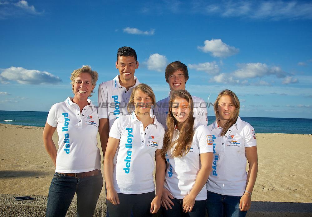 Dutch Olympic team, sponsored by DELTA LLYOD