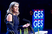 Koningin Maxima bij Global Entrepreneurship Summit 2019