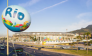 General view of the Maracana Stadium, Rio de Janeiro<br /> Picture by Andrew Tobin/Focus Images Ltd +44 7710 761829<br /> 27/06/2014