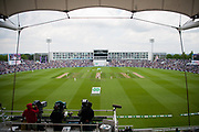 The Hilton Hotel from the Rod Bransgrove Pavilion during the second day of the 4th SpecSavers International Test Match 2018 match between England and India at the Ageas Bowl, Southampton, United Kingdom on 31 August 2018.