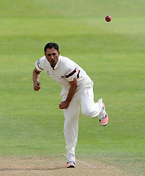 Somerset's Abdur Rehman - Photo mandatory by-line: Harry Trump/JMP - Mobile: 07966 386802 - 14/06/15 - SPORT - CRICKET - LVCC County Championship - Division One - Day One - Somerset v Nottinghamshire - The County Ground, Taunton, England.