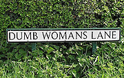 Rudest Place Names In Britain<br /> Sussex<br /> ©Exclusivepix Media