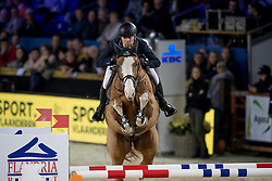 Rivetti Cassio, UKR, Dayton Sitte<br /> Young Stallions 7 years of age<br /> Vlaanderens Kerstjumping Memorial Eric Wauters<br /> © Dirk Caremans<br /> 27/12/2016
