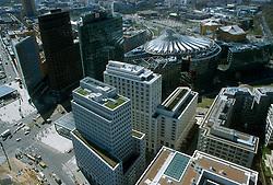 GERMANY BERLIN APR04 - Aerial view of Berlin city centre, Leipziger Platz.<br /> <br /> <br /> <br /> jre/Photo by Jiri Rezac <br /> <br /> <br /> <br /> © Jiri Rezac 2004