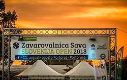 Day 7 at ATP Challenger Zavarovalnica Sava Slovenia Open 2018, on August 9, 2018 in Sports centre, Portoroz/Portorose, Slovenia. Photo by Vid Ponikvar / Sportida