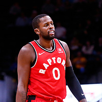 01 November 2017: Toronto Raptors forward CJ Miles (0) is seen during the Denver Nuggets 129-111 victory over the Toronto Raptors, at the Pepsi Center, Denver, Colorado, USA.