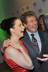 DANIELLE HOPE and MICHAEL CRAWFORD at the press night of the new Andrew Lloyd Webber  musical 'The Wizard of Oz' at The London Palladium, Argylle Street, London on 1st March 2011 followed by an aftershow party at One Marylebone, London NW1