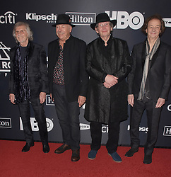 March 30, 2019 - Brooklyn, New York, USA - NEW YORK, NEW YORK - MARCH 29: The Zombies attend the 2019 Rock & Roll Hall Of Fame Induction Ceremony at Barclays Center on March 29, 2019 in New York City. Photo: imageSPACE (Credit Image: © Imagespace via ZUMA Wire)