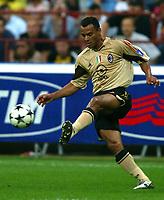 Milano 27/7/2004 Trofeo Tim - Tim tournament <br /> <br /> <br /> <br /> Marcos Cafu (Milan)<br /> <br /> <br /> <br /> Inter Milan Juventus <br /> <br /> Inter - Juventus 1-0<br /> <br /> Milan - Juventus 2-0<br /> <br /> Inter - Milan 5-4 d.cr - penalt.<br /> <br /> <br /> <br /> Photo Andrea Staccioli Graffiti