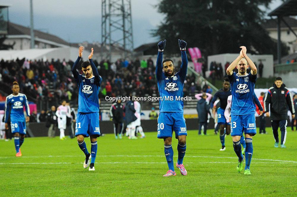 Alexandre LACAZETTE - 07.12.2014 - Evian Thonon / Lyon - 17eme journee de Ligue 1 -<br /> Photo : Jean Paul Thomas / Icon Sport
