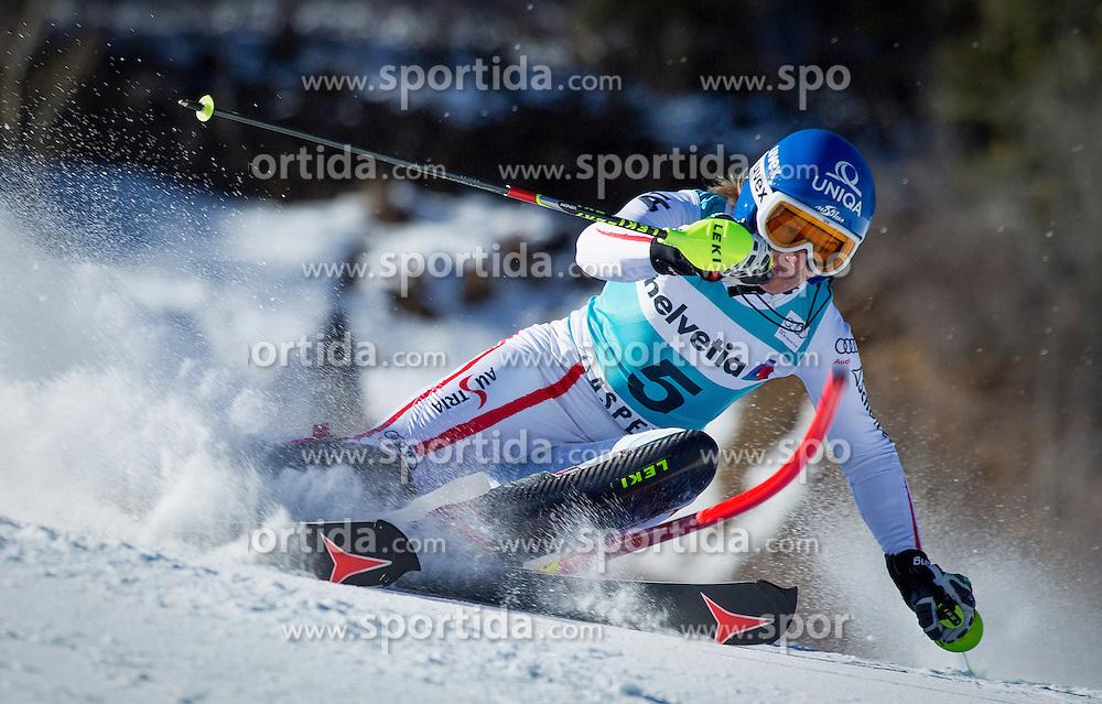 25.11.2012, Aspen Mountain, USA, FIS Ski Alpin Weltcup, Slalom, Damen, im Bild Marlies Schild // during Ladies Slalom of FIS Ski Alpine world cup at Aspen Mountain in Aspen, United States on 2012/11/25. EXPA Pictures © 2012, PhotoCredit: EXPA/ ESPA/ Kevin Pritchard
