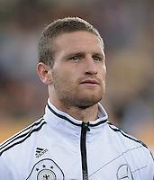 FUSSBALL INTERNATIONAL Laenderspiel Freundschaftsspiel U 21   Deutschland - Frankreich     13.08.2013 Shkodran Mustafi (Deutschland)