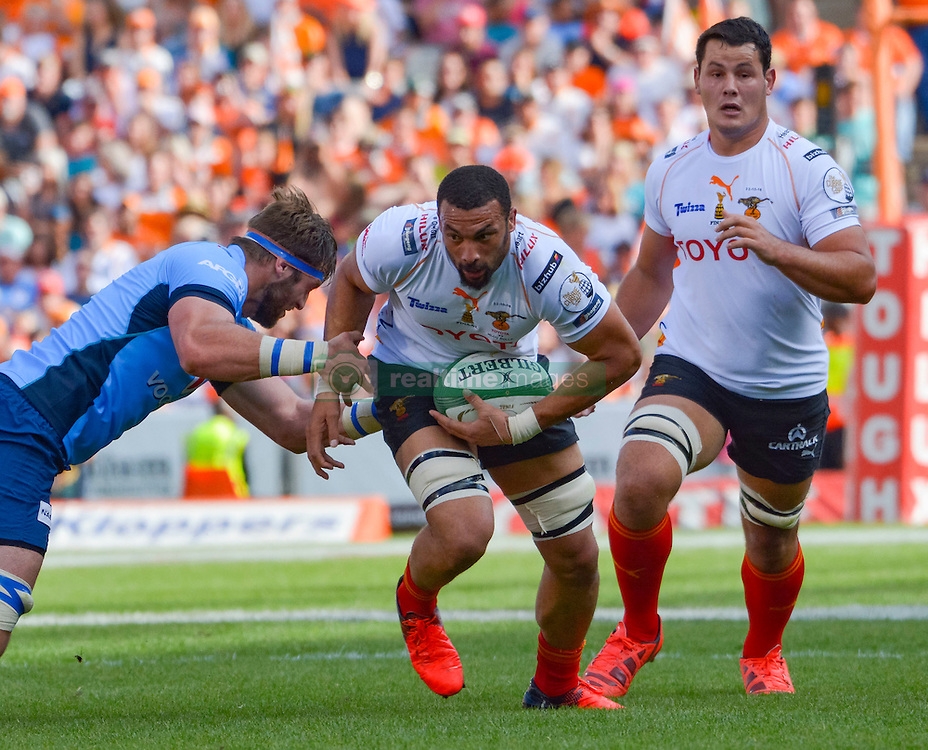 Uzair Cassiem of the Free State Cheetahs and  during the Currie Cup Final between the The Free State Cheetahs and Blue Bulls held at Toyota Stadium (Free State Stadium), Bloemfontein, South Africa on the 22nd October 2016<br /> <br /> Photo by:   Frikkie Kapp / Real Time Images