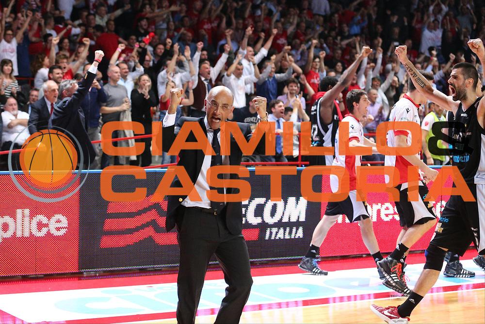 DESCRIZIONE : Varese Lega A 2012-13 Cimberio Varese Montepaschi Siena playoff semifinali<br /> GIOCATORE : Francesco Vitucci<br /> CATEGORIA : Ritratto Esultanza<br /> SQUADRA : Cimberio Varese<br /> EVENTO : Campionato Lega A 2012-2013<br /> GARA : Cimberio Varese Montepaschi Siena<br /> DATA : 28/05/2013<br /> SPORT : Pallacanestro <br /> AUTORE : Agenzia Ciamillo-Castoria/G.Cottini<br /> Galleria : Lega Basket A 2012-2013  <br /> Fotonotizia : Varese Lega A 2012-13 Cimberio Varese Montepaschi Siena playoff semifinali<br /> Predefinita :