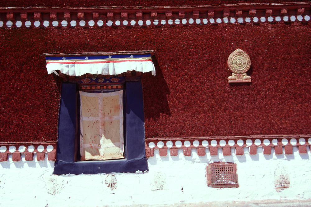 Painted walls at Potala Palace