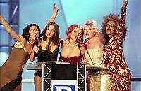 The BRIT Awards 1997 <br /> Monday 24 Feb 1997.<br /> Earls Court Exhibition Centre, London, England<br /> Photo: JM Enternational