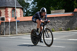 Julie Leth (DEN) at Lotto Thuringen Ladies Tour 2018 - Stage 7, an 18.7 km time trial starting and finishing in Schmölln, Germany on June 3, 2018. Photo by Sean Robinson/velofocus.com