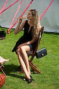 TAMSIN EGERTON, Cartier International Polo. Smiths Lawn. Windsor. 24 July 2011. <br /> <br />  , -DO NOT ARCHIVE-© Copyright Photograph by Dafydd Jones. 248 Clapham Rd. London SW9 0PZ. Tel 0207 820 0771. www.dafjones.com.