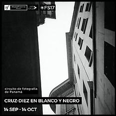 Exposición Cruz-Diez en Blanco y Negro Alianza Francesa