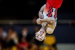 November 2, 2018 - Doha, Qatar - Kenzo Shirai of  Japan   during  Floor for Men at the Aspire Dome in Doha, Qatar, Artistic FIG Gymnastics World Championships on 2 of November 2018. (Credit Image: © Ulrik Pedersen/NurPhoto via ZUMA Press)